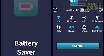 Free battery saver