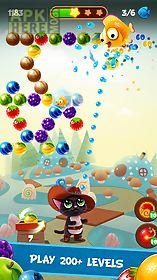 fruity cat- bubble pop