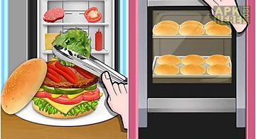 Burger meal maker - fast food!