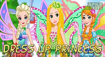 Dress up princess visit fairies