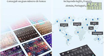 Latin spanish - go keyboard