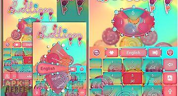 Lollipop go keyboard theme