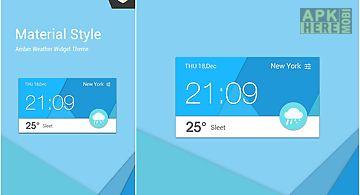 Material design cool widget