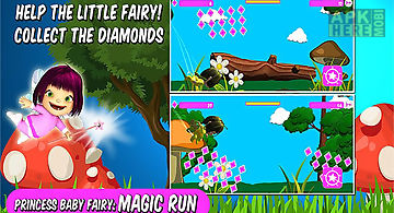 Princess baby fairy: magic run