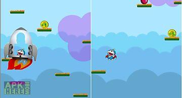 Doraemon rocket jump