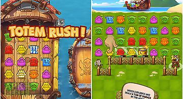 Totem rush: match 3 game