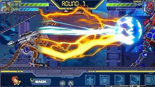toy robot war: robot sickle