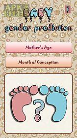baby gender prediction