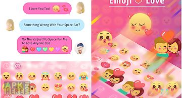 Emoji love for ikeyboard