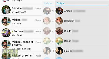 Klyph messenger for facebook