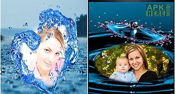Lovely water photo frames