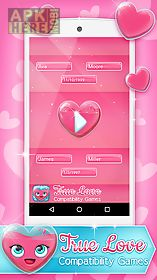 true love compatibility games