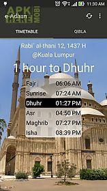 e-adhan - prayer reminder