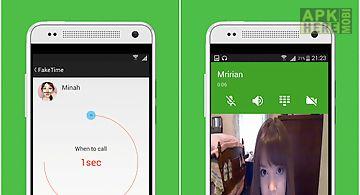 Fake video call - faketime 2.3