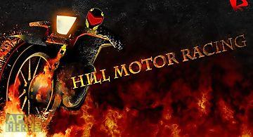 Hill motor racing