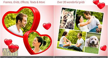 Love collage - photo editor