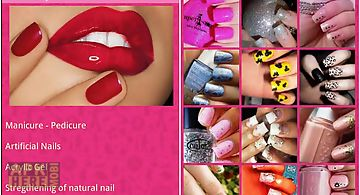 M nails designs