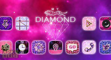 My diamond go launcher theme