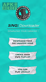 Sing downloader for smule for Android free download at Apk