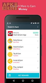 watch & earn - earn real money