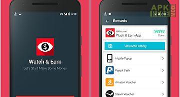 Watch & earn - earn real money