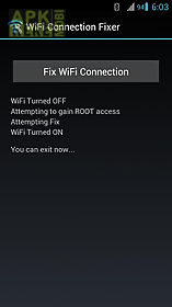 wifi connection fixer *root*