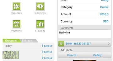 money expense manager for android free download at apk here store