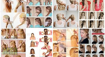 Long hairstyle tutorials