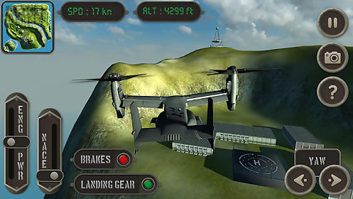 v22 osprey flight simulator