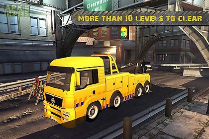 city crane parking sim 2015