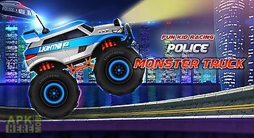 Fun kid racing: police monster t..