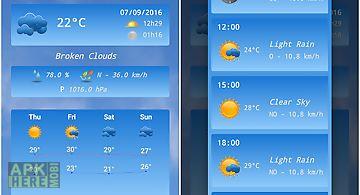 Live weather
