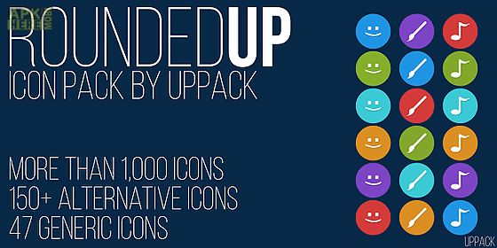 rounded up - icon pack