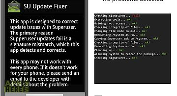 Superuser update fixer
