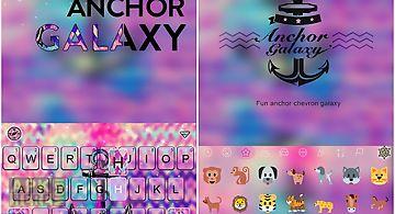 Anchor galaxy emoji keyboard