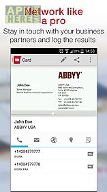 business card reader free