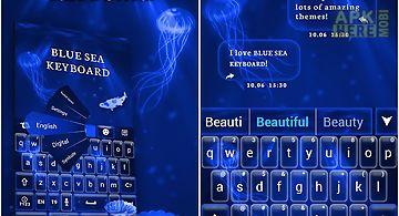 Deep blue sea keyboard theme