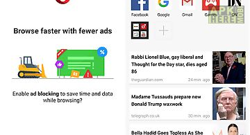 Opera mini for Android free download at Apk Here store - Apktidy com