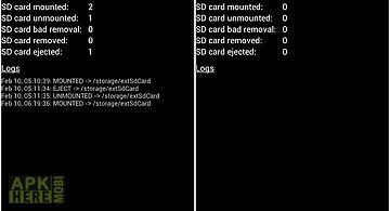 Sd card monitor