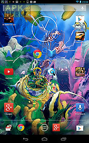 aquarium 3d by shyne lab live wallpaper