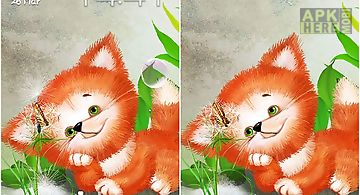 Cute foxy Live Wallpaper