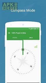 100% qibla finder & prayer