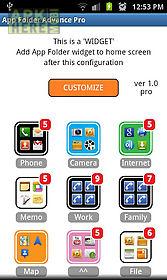 app folder advance