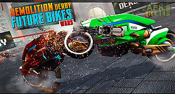 Demolition derby future bike war..
