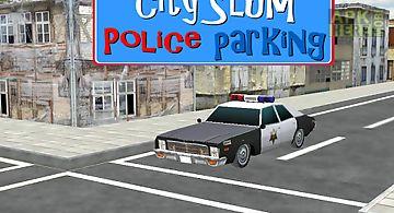 Free 3d police car parking