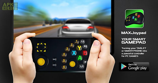 Gamepad joystick maxjoypad for Android free download at Apk