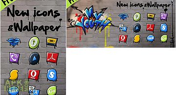 My youth go launcher theme
