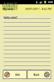 quicknote notepad notes