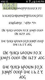 stylish fonts for flipfont