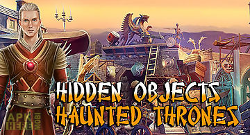 Hidden objects haunted thrones: ..